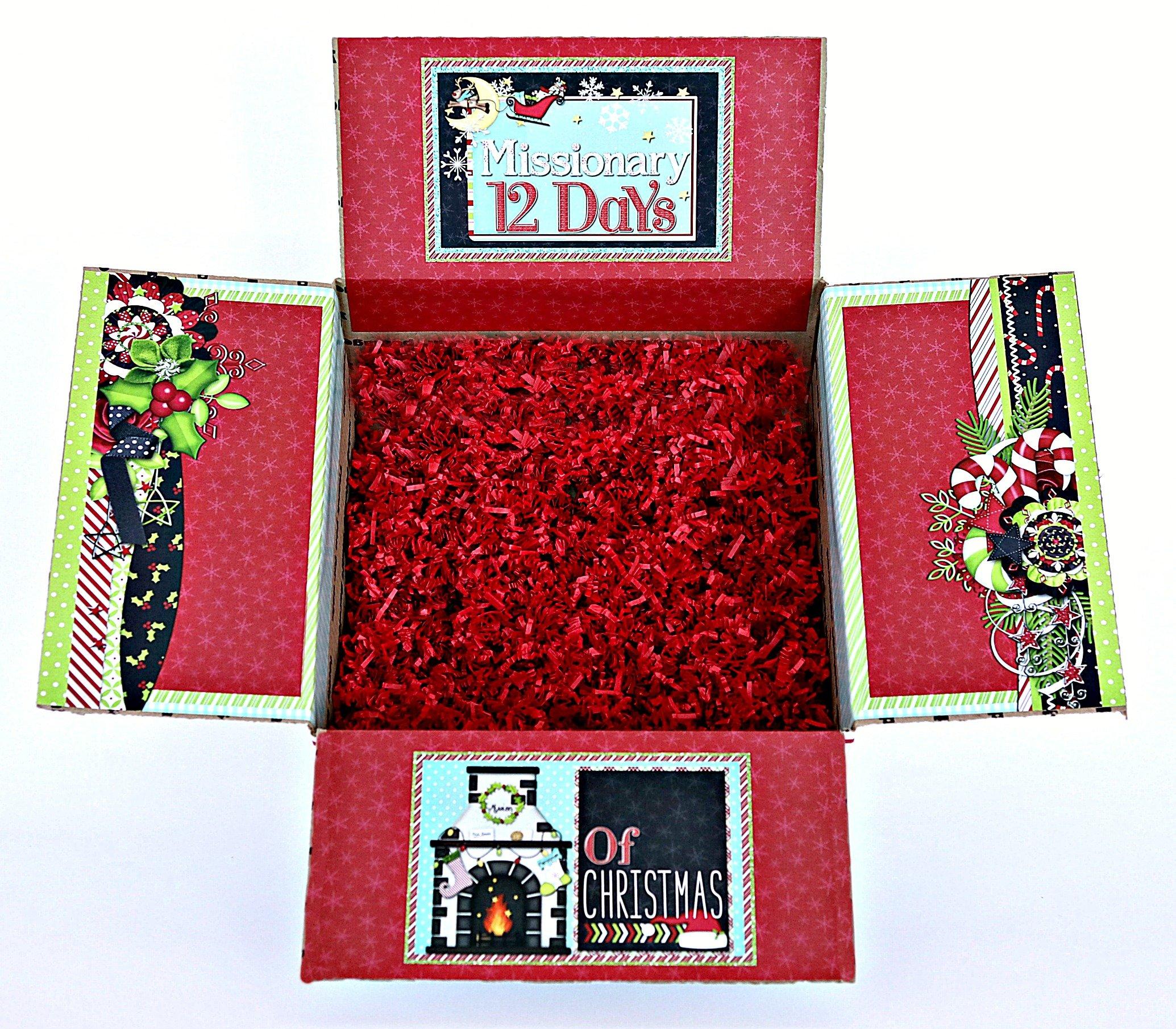 Christmas Kit Missionary 12 Days Of Christmas Missionary Box Moms